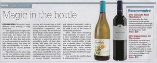 Great Review in NZ Herald